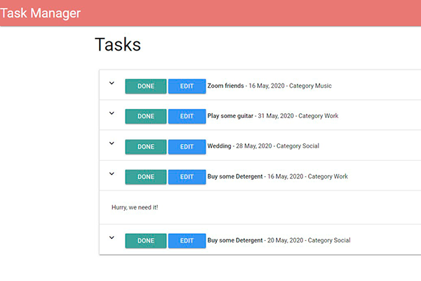 taskmanager in flask